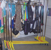 Z-Shaped Clothes Racks